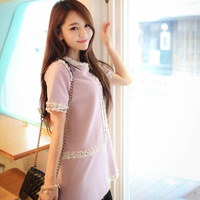 Summer maternity clothing personality casual all-match maternity dress maternity dress