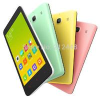 "Case&film free! Xiaomi Red Rice 1S pink,Xiaomi hongmi 1s MSM8228 Quad Core, 4.7"" IPS screen 1280x720, 1G RAM 8G ROM,WCDMA,GPS"