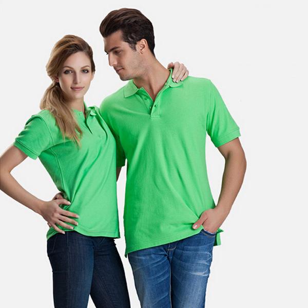 2015 fashion unisex short sleeve Custom promotion Polo shirts 220g Polo for men and women custom printin embroidery logo 808(China (Mainland))
