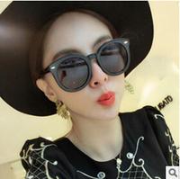 New 2014 Fashion Vintage Big Lenses Brand Design Sunglasses Luxury Retro women round Multicolor sun glasses gafas oculos de sol