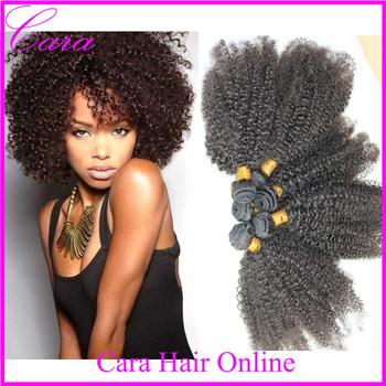 brazilian virgin hair afro kinky curly human hair weaves
