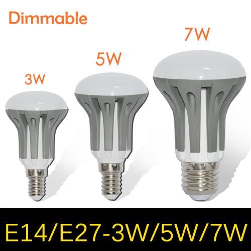 1pcs Dimmable 3W 5W 7W E14 E27 AC 185V - 265V Umbrella LED lamps 2835 SMD Chandelier LED bulb light pendant lights R39 R50 R63(China (Mainland))