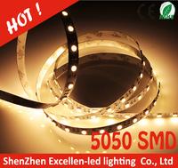 Super bright !! led strip light 5050 SMD 60leds/m NON waterproof IP30 DC12V DC24V warm pure cold white RGB color 50m lot