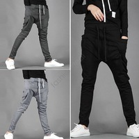 Hot Selling 2015 Spring New Arrival Men's Clothing Casual Sport Harem Pants Korean Leisure Cotton Comfortable Trousers b7 16719