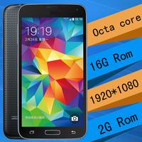 Freeshipping Octa core MTK6592  s5 i9600 phone fingerprint s5 phone waterproof Android 4.4 Heart beat sensor 3D Game G900 phone