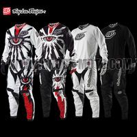 2014 New Troy Lee Designs GP Air Cyclops White MX Motocross Enduro Kit motorcycle MTB DH bike bicycle Jersey shirt Clothing Wear