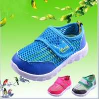 Hot size 21-36 new 2014 spring children shoes boys girls gauze breathable sneakers kids sport shoes children boots