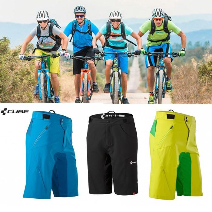 FREE SHIPPING!!!2014 New Cube shorts 3 colors MTB DOWNHILL teamline men's sports bike riding,Cycling Short pants,bicycle trouser(China (Mainland))