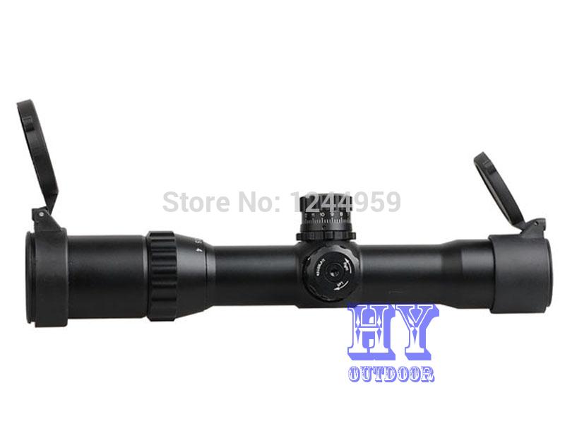 Винтовочный оптический прицел MARCOOL 1/4 x 28 mil/dot & & 1-4X28 LRGB винтовочный оптический прицел leapers utg 6 x 32 mil dot 6x32