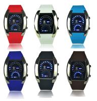 Electronic 2014 Digital LED Watch New Fashion Silicone Strap Speed Men Unisex Women Sports WristWatch Table Relogio Masculino
