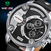 Watches Men Military Quartz Sports Watch Luxury Brand Leather Strap Watch Waterproofed Oversize Wristwatch Male Clock