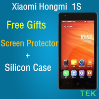 100% new original xiaomi 1S Xiaomi Hongmi 1S RedMi WCDMA 3G MSM8228 Quad Core 1.6GHz MIUI V5 1G Ram 8G Rom 4.7 Inch HD Scree
