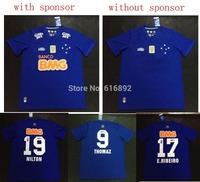 size XXL Cruzeiro jersey Esporte club  2014 home thai quality Cruzeiro 14 15 soccer shirt free shipping E.RIBEIRO NILTON
