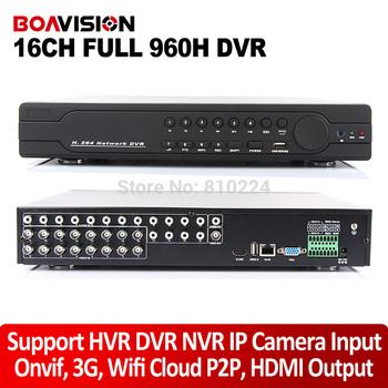 Новый 16-канальный полный 960 H D1 видеонаблюдения DVR в реальном времени запись ...