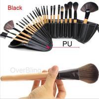 24 Pcs 2014 Professional Makeup Brush Tools & accessories Set salon persian wool cosmetic make up brush set 2015