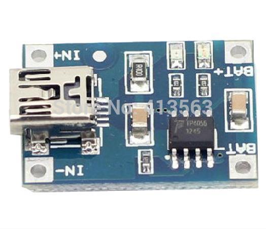 4pcs/lot 1A dedicated lithium battery charging pad charging module lithium battery charger TP4056(China (Mainland))