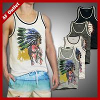 100% Cotton Men's Tanks Tops Sleeveless sports Sweatshirts Casual male fitness Vest Shirts Brand Design Large plus Size J1817