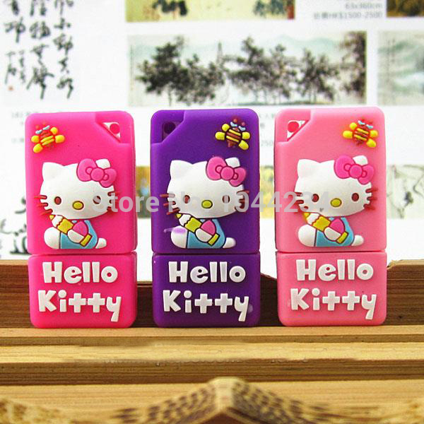 hign quality 100% popular lovely cartoon usb flash drive pendrive car key 4GB 8GB 16GB pendrives card pen drive memory stick(China (Mainland))