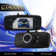New Car DVR GS9000L NOVATEK Chipset 1080P 2.7'LCD 140 Degree Lens Car Vehicle Black Box Camera Recorder DVR G-Sensor GS9000L(China (Mainland))