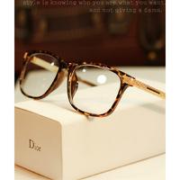 2014 new brand design men women Metal legs eye glasses frame computer plain glasses optical Spectacle Frame glasses oculos