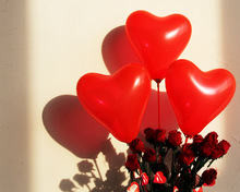 cheap heart balloon
