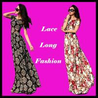 2015 casual lace summer long dress womens maxi vestidos fashion short sleeve floor-length vestido slim floral print full dresses