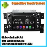 In-dash 7'' Capacitive Touchscreen Samsung 1.6Ghz Dual Core Suzuki Grand Vitara  Android 4.22 car dvd gps player with 3g wifi