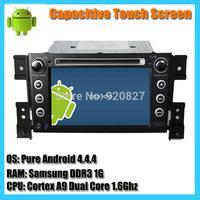 7inch 2 din Indash 100% Pure Android 4.2 Dual Core 1.6G Suzuki Grand Vitara Car DVD GPS Radio With BT USB Ipod WIFI Free Map