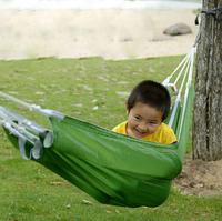 NatureHike single hammock 90kg outdoor ultralight parachute cloth furniture garden swing orange and green color