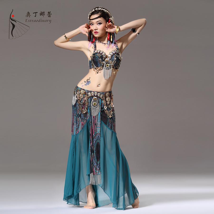 2014 neue bauchtanz kostüm marke tanz Outfit für frauen rock tanz gürtel kleidung legt tanzkostüm bra+skirt