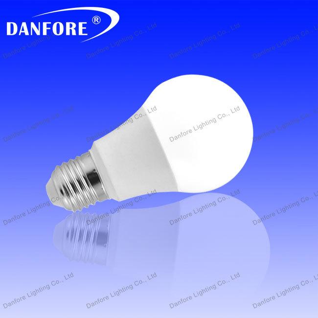 Free shipping 10pcs /lot 7w plastic led bulb light B22/E27/E26/E14 RA>80 LED Lamp cheap energy saving light bulb(China (Mainland))