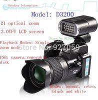 Free shipping 21 times zoom lens 16 million pixels presented three Baoda d3200 digital camera telephoto digital camera