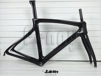 Road bike black glossy/matte carbon bicycle frame carbon road frameset,available size:44cm/46.5cm/50cm/51.5cm/53cm/55cm/57cm