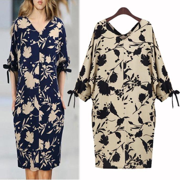 цена Женское платье SHANGDIAN 5xl CR163 онлайн в 2017 году