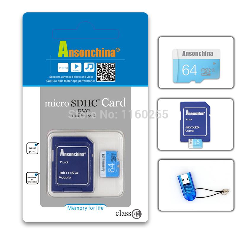 Lettore di schede di memoria a USB 2.0 Adapter per Micro SD SDHC SDXC TF Hi-Speed