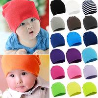 2014 New Unisex Newborn Baby Boy Girl Toddler Infant Cotton Soft Cute Hat Cap Beanie 20 Color