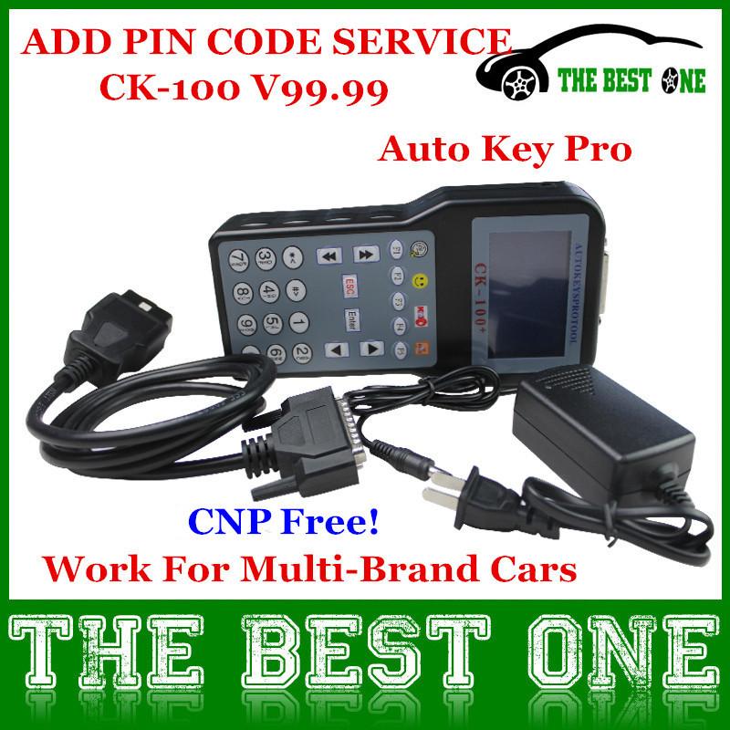 2014 Promotion The Latest Generation V99.99 CK100 Auto Key Programmer CK 100 With Multi-language OBD2 Car Key Programmer CK-100(Chin