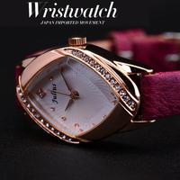 Women Dress watches Luxury Brand Famous Fashion Watch Rhinestone Clock Quartz Wristwatches Relogio Feminino Julius Ladies  2014