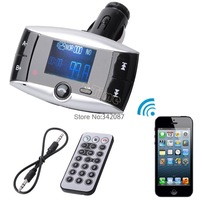 Holiday Sale! 2014 New Hot Car Kit FM Transmitter Bluetooth Modulator MP3 Player USB Charger SD Slot b4 SV004149
