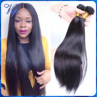 Luvin Hair Products Brazilian Straight Virgin Hair 3Pcs Virgin Brazilian Human Hair weave Natural Black Color VIP Beauty Hair