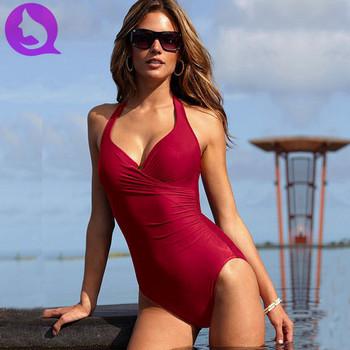 Бесплатная доставка новинка леди женщин цельный сексуальный купальник с короткой юбке высокое качество купальников марки пляжную одежду HF-0398