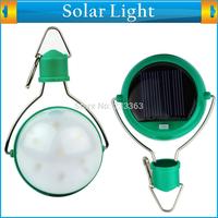 Waterproof Portable Outdoor Bright White Lighting Camp Tent Lantern Solar Power 7 LED Camping Travel Light Lamp *2 PCS