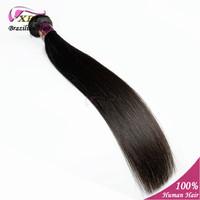 Brazilian Virgin Straight Hair Extension 100% Unprocessed Virgin Brazilian Human Hair  No Chemical & No Shedding 1 pcs/lot