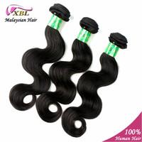 Malaysian Virgin Body Wave Hair Extension 5A Grade 100% Unprocessed Human Hair Weave 3 pcs/lot XBL Weave Beauty Cabelo Humano