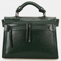 New 2015 Women Leather Handbag Fashion Women Messenger Bags Genuine Leather Shoulder Bag Vintage Crossbody Bags Women Handbags