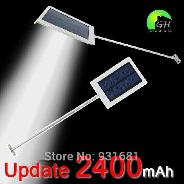 11.11 Free Shipping Ultra-thin All In One Small Solar Panel Powered LED Outdoor Wall Light Garden Road Fence Solar Light Lamp(China (Mainland))