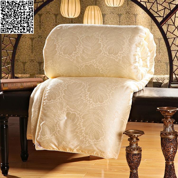100% Natural/Mulberry Silk Comforter for Winter/summer Twin Queen King Full size Duvet/Blanket/Quilt white/pink/beige Filler(China (Mainland))