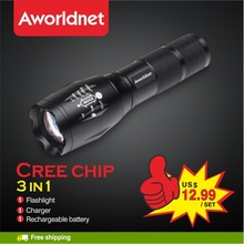 wholesale led torches rechargeable