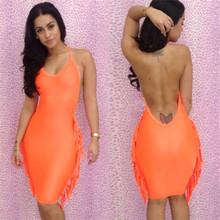 wholesale tassel dress