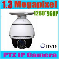 "MINI 4 Inch PTZ IR 1/3"" cmos SONY 10X Digital Zoom  30-50mm CCTV Outdoor PTZ Surveillance Dome IP PTZ security camera"